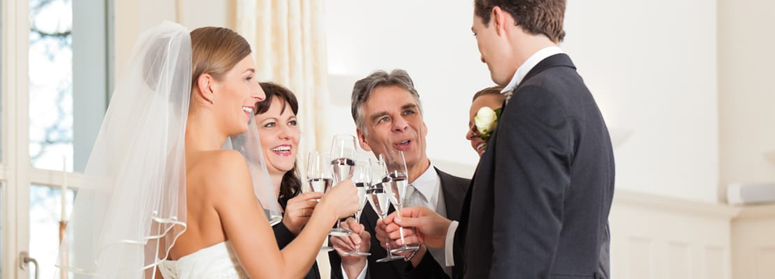 Wedding toast by Universal Life Church minister